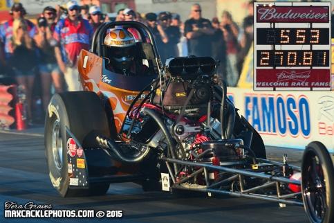 Tony Bartone: 5.53, 270-mph
