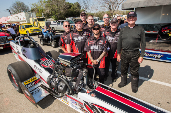 High Speed Motorsports Top Fuel Dragster